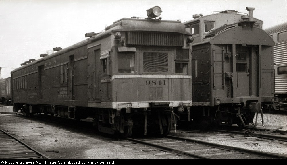 CB&Q 9841 Was Sent to be Scrapped the Next Month But the Body Became the Savanna, IL Enginemens Office