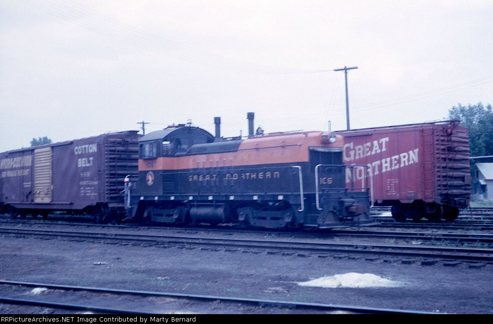 GN 106 Switching in 1964