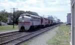 CB&Q F3A #131A Leads Three Red Ones in 1963