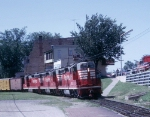 CB&Q SD24 #500 in 1964