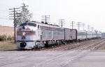This is Probably the Kansas City Zephyr which Normally Ran Combined with the Nebraska Zephyr
