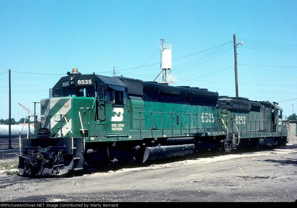 BN 6535 and 6253 (ex-CB&Q 513)