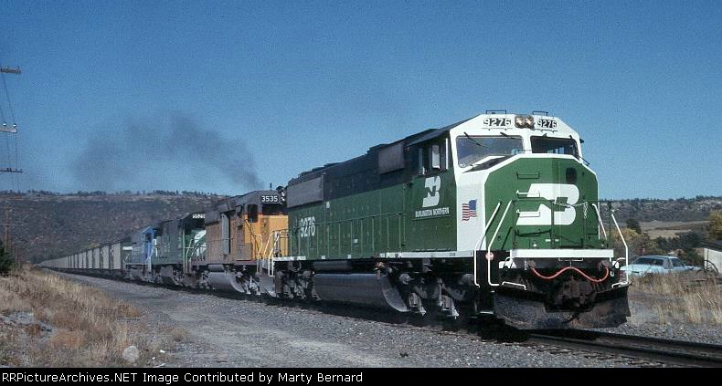Six Units Moving Coal South in 1992