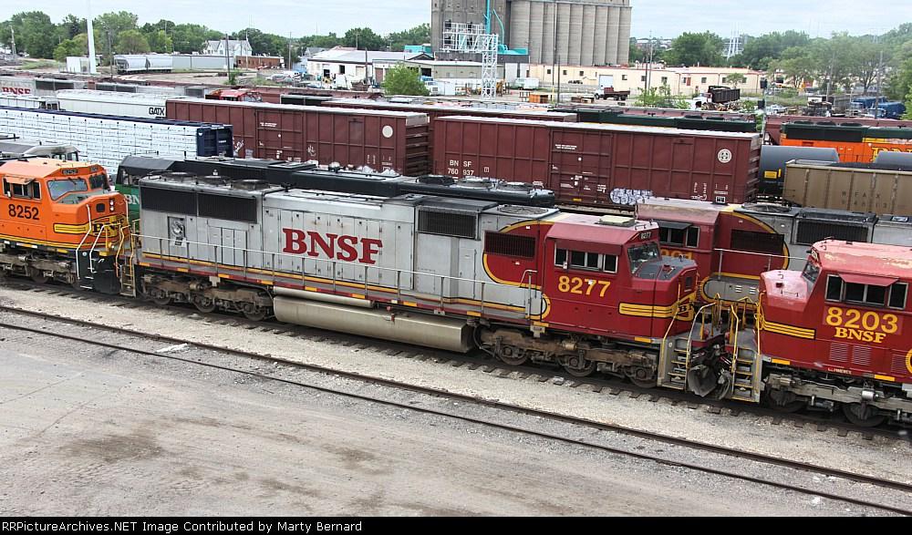 BNSF 8277 Stored in Northtown Yard
