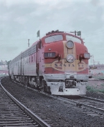 AT&SF 16L with Train #19, The Chief