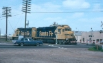 AT&SF 2767 and 2925 in 1994