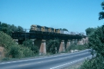 AT&SF 3839 in 1994 on Bridge