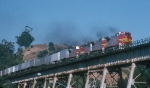 AT&SF 549 Up High in 1994