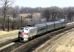 A Month Before Amtrak BN 9964 WB With the Nebraska and Kansas City Zephyrs