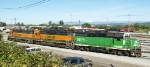 BNSF 2971, 2719, and 2381