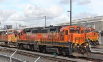 BNSF 2344 and 2786 All Dressed Up