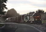 BNSF 2880 and 2870 With the Auburn Yard Job 201 And a Caboose @ 6:31 pm