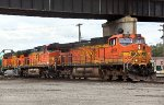 BNSF 4194, 5348, and 5679