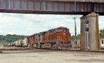 BNSF 4949, 4700, and 5061