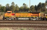 BNSF 507, The 3-unit  Local Switcher