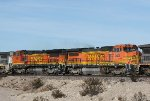 BNSF 523 and 541