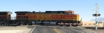 BNSF 5328, EB, Moving Up in the Queue to Enter Abo Canyon