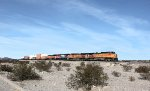 BNSF 5351, 5160, FXE 4698, and BNSF 7545
