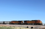 BNSF 5469 and 4867