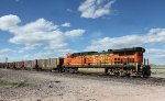 BNSF DPU 5600 at MP 122.7, Collins Road