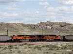 BNSF 5849 and 6207 North of Antelope Mine.