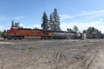 BNSF 6130 and 9411 Eastbound