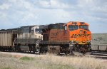 BNSF 6276 and 9787 in Yard