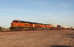 BNSF 7282, 6755, and 5507