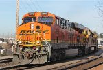 BNSF 7399 SB Full Auto Rack Train