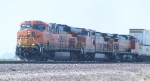 BNSF 7597 Eastbound in the Mojave Desert