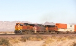BNSF 7303, 620, and 4058