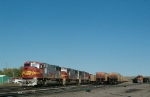BNSF 8241 at Sheridan, WY
