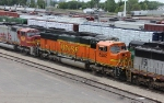 BNSF 8252 Stored at Northtown Yard