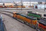 BNSF 8847 and 3600