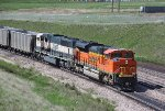 BNSF 9166 and 9755