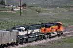 BNSF 9755 and 9166
