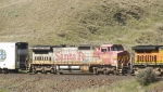BNSF 925 Finishing Out Her Life