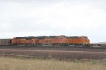 BNSF 9283 and 6432 With Empties Waiting to Go to the Mines.