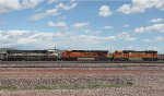 BNSF 9514, 5977, and 9965