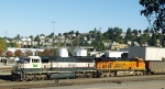 BNSF 9652 and 6139 Roll Coal North Through Blamer Yard