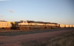 BNSF 9752 and 9541 NB (RR west) at Sunset