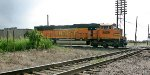 BNSF DPU 9859 at Southwest Junction