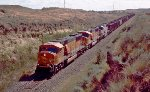 BNSF 9702, 8848, and 9707 Bringing Powder River Basin Coal to the Pacific Northwest