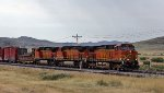 BNSF 4387, 4831, and 4081 Westbound
