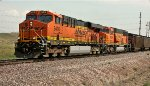 BNSF 6416 and 8986