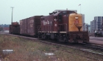 Please Don't Pick the Daisies, CRI&P 451 was About to Pass Joliet Union Station in 1969