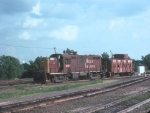 One of the Rock's 5 RS2s #454 was on a Caboose Hop in 1977