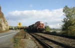 CP Train 252 is South bound at Ft. Ticonderoga, NY