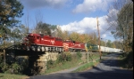 Vermont Rail System Train #264 at Ludlow,VT
