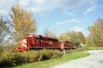 Vermont Railway Train #264 is westbound at Summit, VT